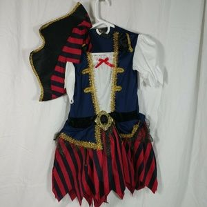 Leg Avenue Girls Pirate M Halloween Costume Cospla